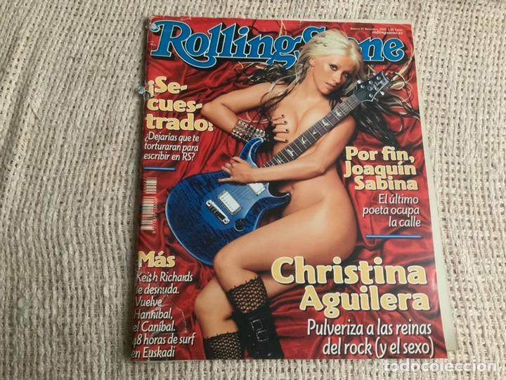ROLLING STONE N° 37 NOVIEMBRE 2002 CHRISTINA AGUILERA (Música - Revistas, Manuales y Cursos)