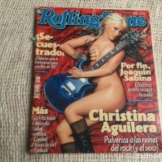 Revistas de música: ROLLING STONE N° 37 NOVIEMBRE 2002 CHRISTINA AGUILERA. Lote 180401678