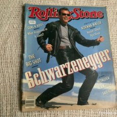 Revistas de música: ROLLING STONE Nº 611 AUGUST 1991 ARNOLD SCHWARZENEGGER. Lote 180402212