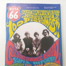 Riviste di musica: RUTA 66 - Nº 64 - CREEDENCE CLEARWATER REVIVAL, ELVIS COSTELLO, THE CYNICS, THE JAM, RAY CHARLES. Lote 180406525