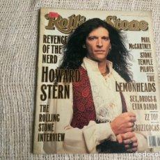 Revistas de música: ROLLING STONE, REVISTA DE MUSICA ( EDICION EN INGLES ) - EDITADA FEBRUARY 1994. Lote 22763740