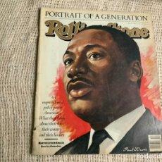 Revistas de música: ROLLING STONE, REVISTA DE MUSICA ( EDICION EN INGLES ) - EDITADA APRIL 1988 MARTIN LUTHER KING. Lote 22764407