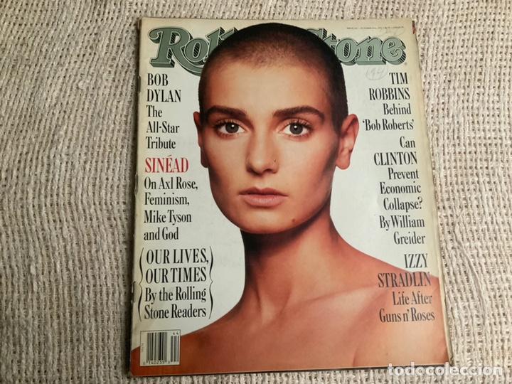 ROLLING STONE, REVISTA DE MUSICA ( EDICION EN INGLES ) - EDITADA OCTUBRE 1992 SINEAD O'CONNOR (Música - Revistas, Manuales y Cursos)