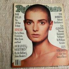 Revistas de música: ROLLING STONE, REVISTA DE MUSICA ( EDICION EN INGLES ) - EDITADA OCTUBRE 1992 SINEAD O'CONNOR. Lote 22764431