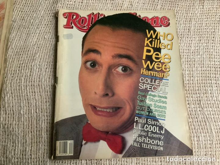 ROLLING STONE, REVISTA DE MUSICA ( EDICION EN INGLES ) - EDITADA OCTOBER 1991 (Música - Revistas, Manuales y Cursos)
