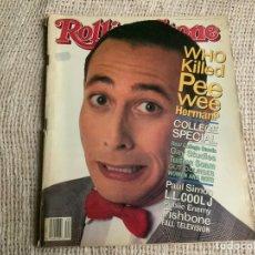 Revistas de música: ROLLING STONE, REVISTA DE MUSICA ( EDICION EN INGLES ) - EDITADA OCTOBER 1991. Lote 22764800