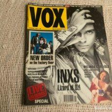 Revistas de música: VOX , REVISTA DE MUSICA ( EDICION EN INGLES ) - EDITADA JANUARY 1991 -MANTIENE SUPLEMENTO CENTRAL. Lote 22765090