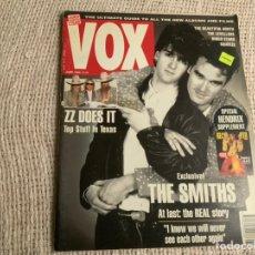 Revistas de música: VOX , REVISTA DE MUSICA ( EDICION EN INGLES ) - EDITADA JUNE 1992 -MANTIENE SUPLEMENTO CENTRAL. Lote 22765166