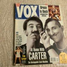 Revistas de música: VOX , REVISTA DE MUSICA ( EDICION EN INGLES ) - EDITADA APRIL 1992 -MANTIENE SUPLEMENTO CENTRAL. Lote 22765177