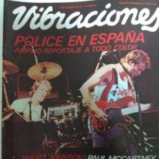 Revistas de música: REVISTA VIBRACIONES Nº 72. Lote 180435140