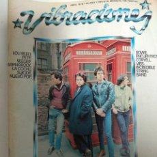 Revistas de música: REVISTA VIBRACIONES Nº 43. Lote 180435305