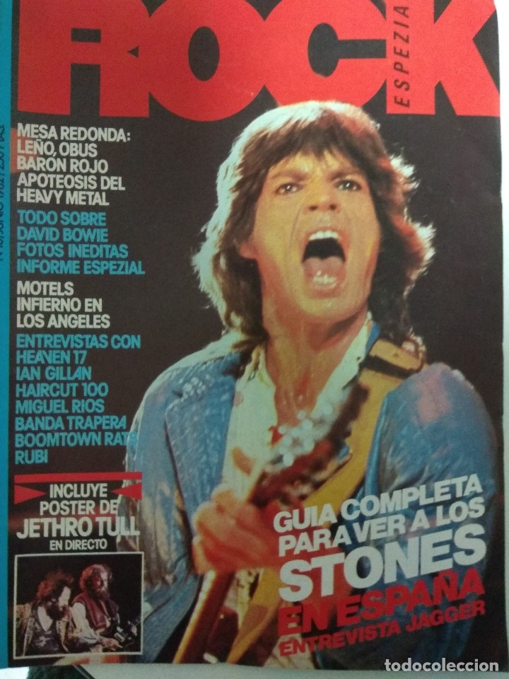 REVISTA ROCK ESPEZIAL Nº 10 (Música - Revistas, Manuales y Cursos)