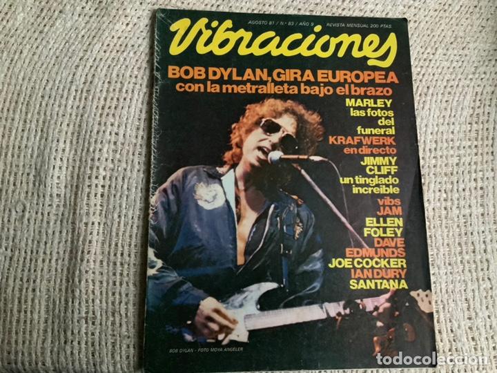 VIBRACIONES Nº 83 AGOSTO 1981 (Música - Revistas, Manuales y Cursos)