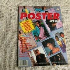 Revistas de música: RIGHTON - POSTER SPECIAL , JANET JACKSON , LISA BONET , RUN DMC , MICHAEL BIVINS. Lote 12605289