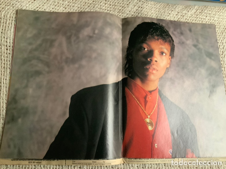 Revistas de música: RIGHTON - POSTER SPECIAL , JANET JACKSON , LISA BONET , RUN DMC , MICHAEL BIVINS - Foto 2 - 12605289