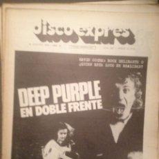 Revistas de música: DISCO EXPRES 360: DEEP PURPLE, KEVIN COYNE, SECTA SONICA, SABANDEÑOS,CANCION VASCA, DUANE ALLMAN. Lote 180496503