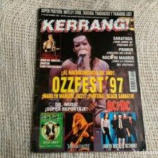 Revistas de música: KERRANG Nº 46. OZZYFEST , MANSON , POSTERS: SUICIDAL TENDENCIES,. Lote 56607821