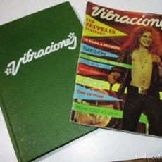 Revistas de música: LOTE TOMO + REVISTA VIBRACIONES, MÚSICA, ROCK, POP AÑOS 70. Lote 180507278