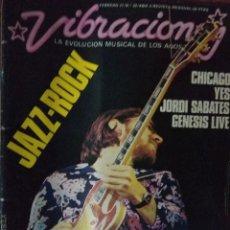 Revistas de música: REVISTA VIBRACIONES Nº 29. Lote 180910748