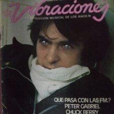 Revistas de música: REVISTA VIBRACIONES Nº 33. Lote 180910871