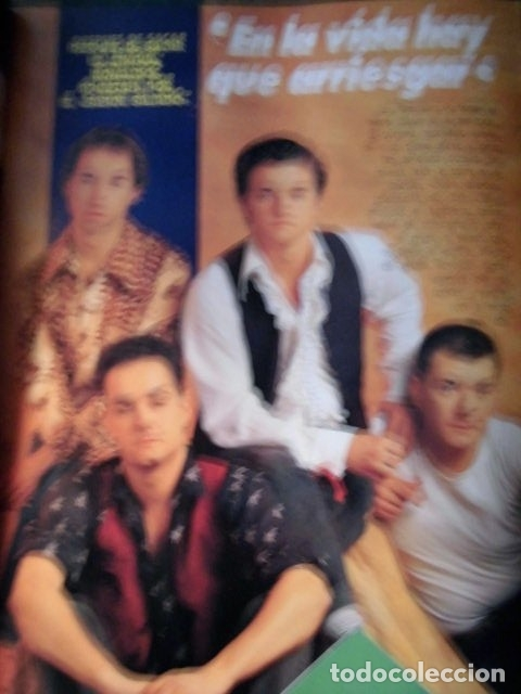 Revistas de música: EL GRAN MUSICAL Nº319 SINEAD RAMONCINMONTANA REFRESCOS DEPECHE MODE PRETENDERS RONALDOS SINIESTRO - Foto 3 - 180911556