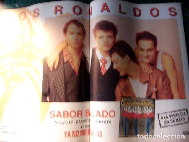 Revistas de música: EL GRAN MUSICAL Nº319 SINEAD RAMONCINMONTANA REFRESCOS DEPECHE MODE PRETENDERS RONALDOS SINIESTRO - Foto 11 - 180911556