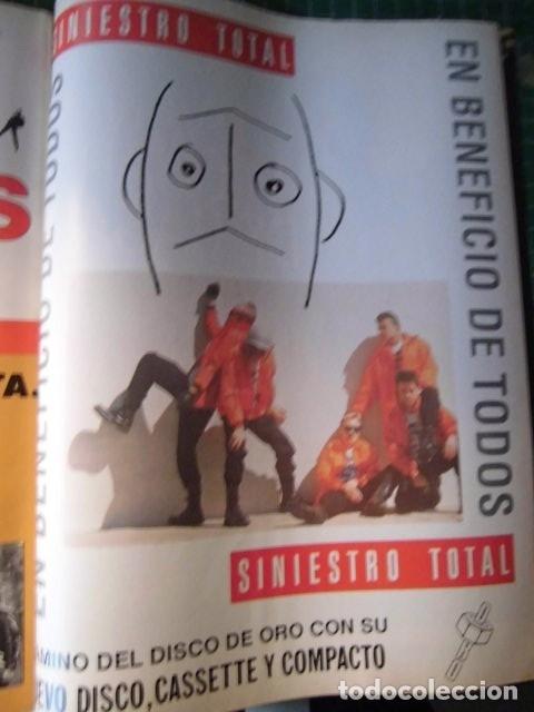 Revistas de música: EL GRAN MUSICAL Nº319 SINEAD RAMONCINMONTANA REFRESCOS DEPECHE MODE PRETENDERS RONALDOS SINIESTRO - Foto 13 - 180911556