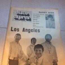 Riviste di musica: DISCO EXPRES Nº 14 (1969) MCCARTNEY SERRAT ANGELES TRÁGALA BEE GEES BETA. Lote 180924065