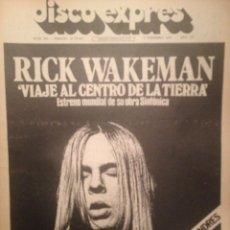 Revistas de música: DISCO EXPRES 260: LLUIS LLACH,BEATLES,TOTI SOLER,NEW YORK DOLLS,WHO,MIND GAMES JOHN LENNON. Lote 180934222
