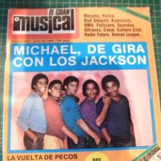 Revistas de música: EL GRAN MUSICAL Nº244 JACKSONS STINGRAMONCIN ORQUESTA MONDRAGON BRUCE SPRINGSTEEN ULTRAVOX. Lote 181011755
