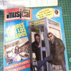 Revistas de música: EL GRAN MUSICAL Nº228EDDY GRANT ULTRAVOX BLADE RUNNER STEVIE COLLINS TINO CASAL CROSS. Lote 181107250
