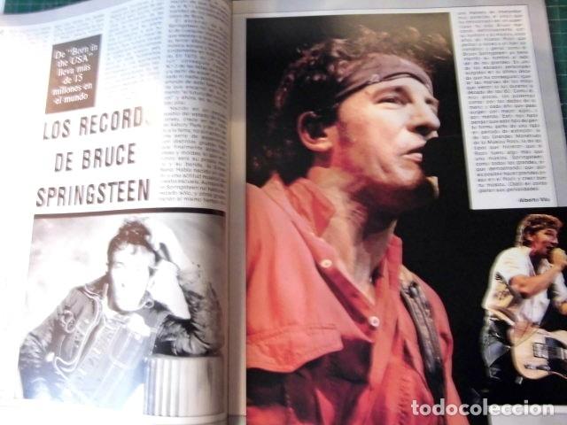 Revistas de música: EL GRAN MUSICAL Nº265 BRUCE CURE ROLLING STONES REBELDES LOQUILLO A HA MADONNA COPINI - Foto 3 - 181318481