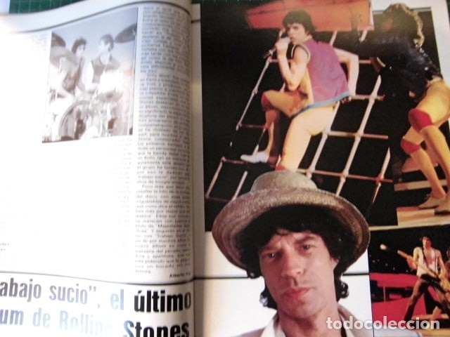 Revistas de música: EL GRAN MUSICAL Nº265 BRUCE CURE ROLLING STONES REBELDES LOQUILLO A HA MADONNA COPINI - Foto 5 - 181318481