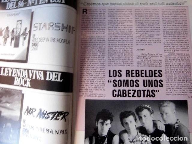 Revistas de música: EL GRAN MUSICAL Nº265 BRUCE CURE ROLLING STONES REBELDES LOQUILLO A HA MADONNA COPINI - Foto 6 - 181318481