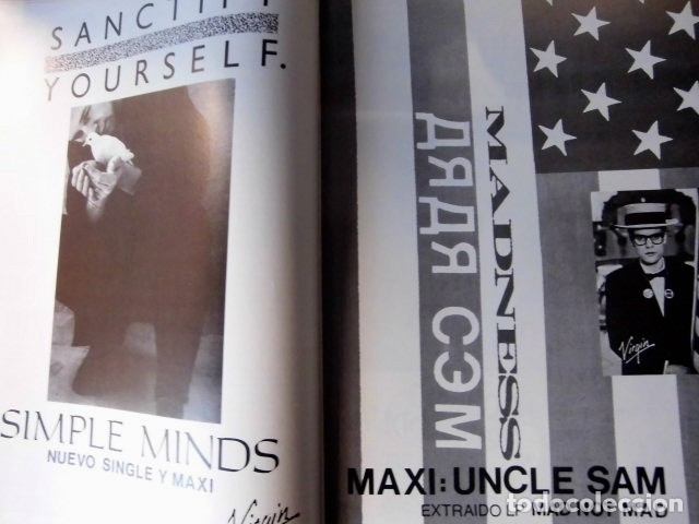 Revistas de música: EL GRAN MUSICAL Nº265 BRUCE CURE ROLLING STONES REBELDES LOQUILLO A HA MADONNA COPINI - Foto 7 - 181318481