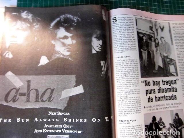Revistas de música: EL GRAN MUSICAL Nº265 BRUCE CURE ROLLING STONES REBELDES LOQUILLO A HA MADONNA COPINI - Foto 10 - 181318481