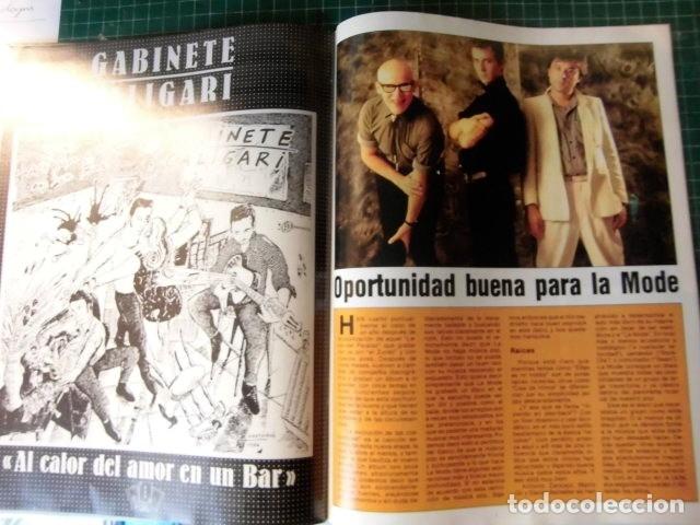 Revistas de música: EL GRAN MUSICAL Nº265 BRUCE CURE ROLLING STONES REBELDES LOQUILLO A HA MADONNA COPINI - Foto 11 - 181318481