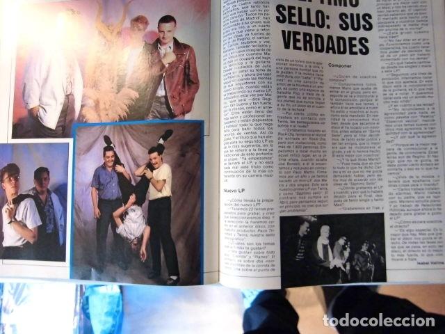 Revistas de música: EL GRAN MUSICAL Nº265 BRUCE CURE ROLLING STONES REBELDES LOQUILLO A HA MADONNA COPINI - Foto 12 - 181318481