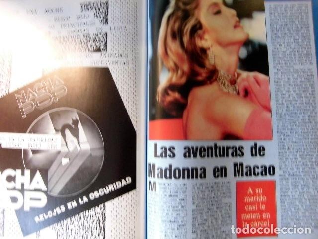 Revistas de música: EL GRAN MUSICAL Nº265 BRUCE CURE ROLLING STONES REBELDES LOQUILLO A HA MADONNA COPINI - Foto 13 - 181318481