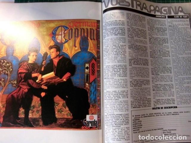 Revistas de música: EL GRAN MUSICAL Nº265 BRUCE CURE ROLLING STONES REBELDES LOQUILLO A HA MADONNA COPINI - Foto 14 - 181318481