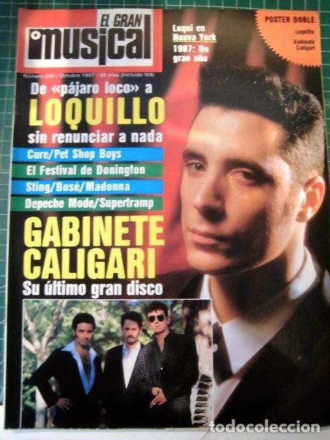 EL GRAN MUSICAL Nº284LOQUILLO STING CALIGARI MCCARTNEY THE CURE DEPECHE MODE MADONNA SABRINA (Música - Revistas, Manuales y Cursos)