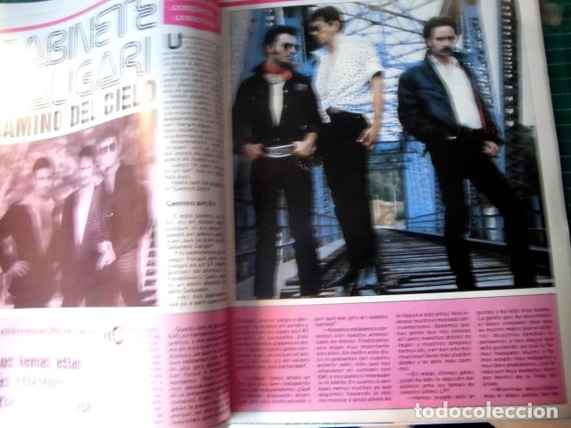 Revistas de música: EL GRAN MUSICAL Nº284LOQUILLO STING CALIGARI McCARTNEY THE CURE DEPECHE MODE MADONNA SABRINA - Foto 6 - 181340840
