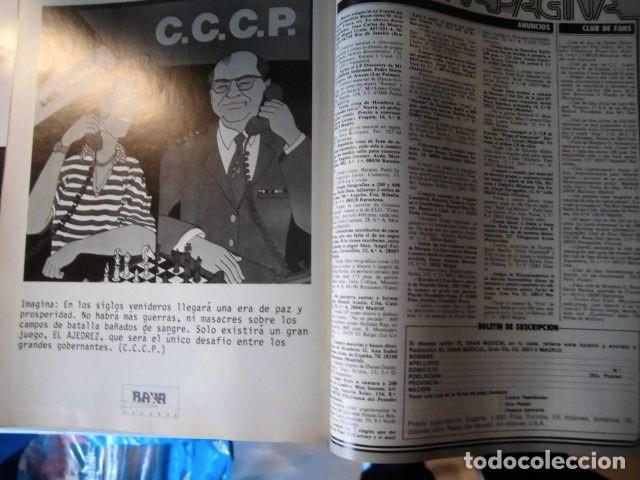Revistas de música: EL GRAN MUSICAL Nº284LOQUILLO STING CALIGARI McCARTNEY THE CURE DEPECHE MODE MADONNA SABRINA - Foto 12 - 181340840