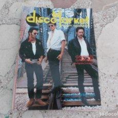 Revistas de música: REVISTA ESPECIALIZADA DISCO MARKET Nº 4,1988, GABINETE GALIGARI,RAMONCIN,MORRISEY,R.E.M,CHRIS ISAAK. Lote 181451922
