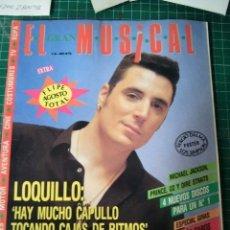 Revistas de música: EL GRAN MUSICAL Nº346 EXTRA AGOSTO LOQUILLO AZUCAR MORENO DALMA MADONNA CINE NOTICIAS PUBLICIDAD . Lote 182157297