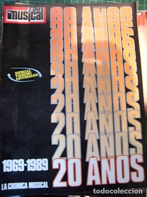EL GRAN MUSICAL ESPECIAL MONOGRAFICO EXITOS 20 AÑOS COMPLETO EXCELENTE ESTADO DE CONSERVACION (Música - Revistas, Manuales y Cursos)