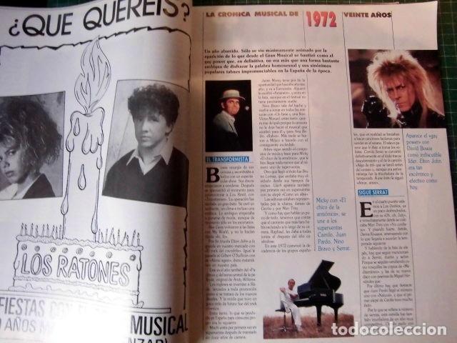 Revistas de música: EL GRAN MUSICAL ESPECIAL MONOGRAFICO EXITOS 20 AÑOS COMPLETO EXCELENTE ESTADO DE CONSERVACION - Foto 3 - 182261892
