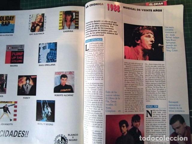 Revistas de música: EL GRAN MUSICAL ESPECIAL MONOGRAFICO EXITOS 20 AÑOS COMPLETO EXCELENTE ESTADO DE CONSERVACION - Foto 12 - 182261892