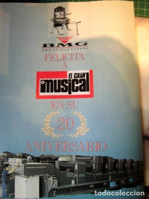 Revistas de música: EL GRAN MUSICAL ESPECIAL MONOGRAFICO EXITOS 20 AÑOS COMPLETO EXCELENTE ESTADO DE CONSERVACION - Foto 13 - 182261892