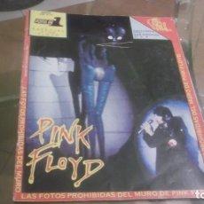 Revistas de música: REVISTA MUSICAL COLECCIÓN POPULAR 1 (1973) - ESPECIAL PINK FLOYD - FALTAN POSTER IMAGENES CENTRALES. Lote 182574225